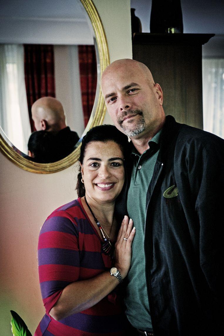 Gerardo Hernandez en Adriana Perez, het Cubaanse echtpaar dat een sleutelrol speelde in de dooi tussen de Vs en Cuba. Beeld Tim Dirven