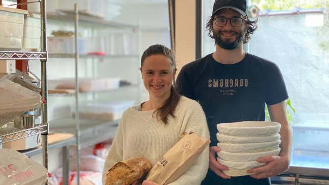 Nieuwe thuisbakkerij geopend in centrum Gent: zuurdesembrood, stokbroden en koekjes op bestelling