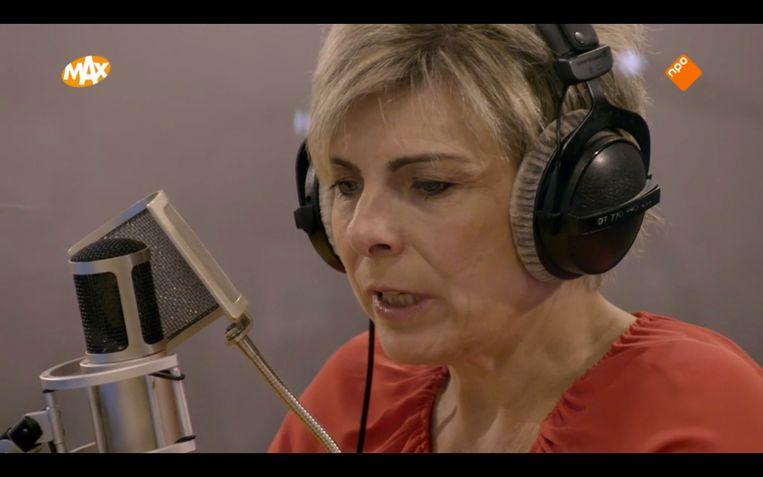 Prinses Laurentien spreekt een voice-over in, die klonk 'alsof ze de troonrede uitsprak', maar ook die kritiek kon ze hebben. Beeld screenshot tv
