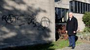 Vandalen bekladden Sint-Annakerk met graffiti
