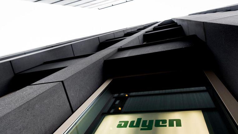 Adyen hoorde woensdag bij de winnaars op de beurs in Amsterdam. Beeld anp