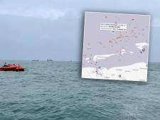 Urker kotter kapseist op Noordzee: 'Schrik slaat je om het hart!'