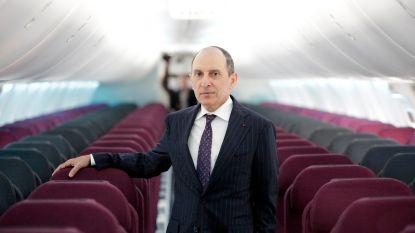 """CEO Qatar Airways sluit vrouw aan het hoofd van vliegmaatschappij uit: """"Het is een erg uitdagende job"""""""