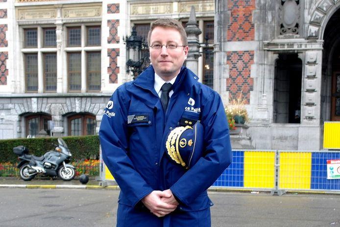 Korpschef Frédéric Dauphin verlaat de politiezone Brussel-Noord.