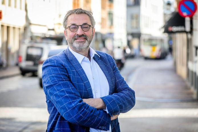 Dirk Vanhegen is de nieuwe voorzitter van het Brugs Handelscentrum.