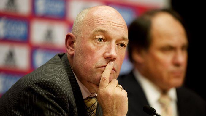 Jeroen Slop, financieel directeur van Ajax.