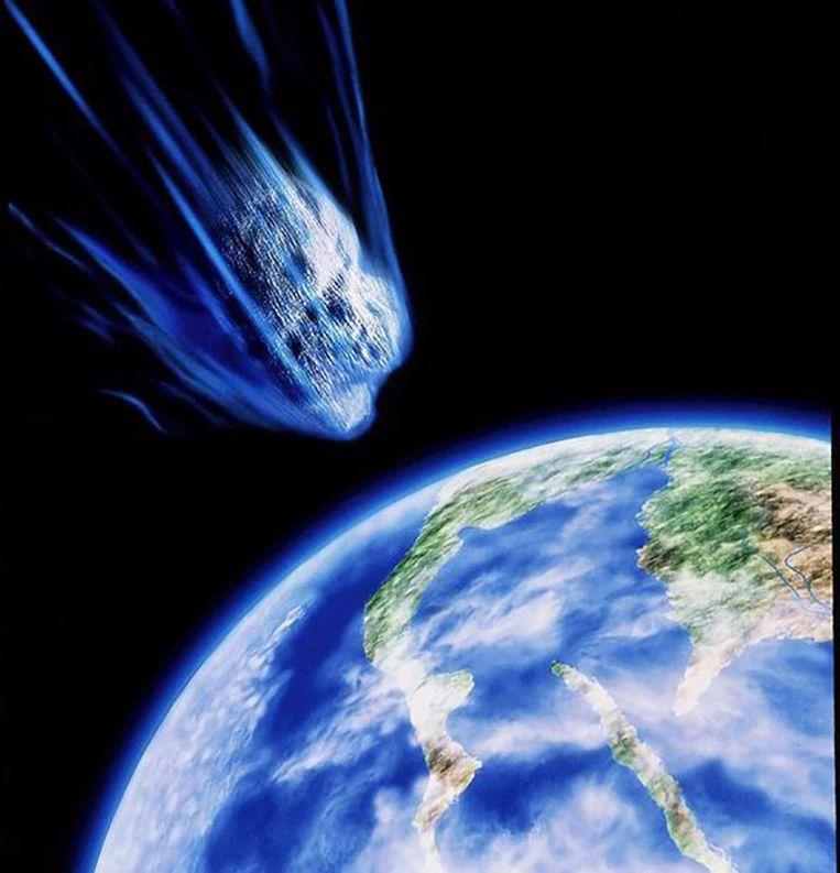 De asteroïde met de naam '2014-YB35' beweegt zich met 37.000 kilometer per uur door de ruimte.