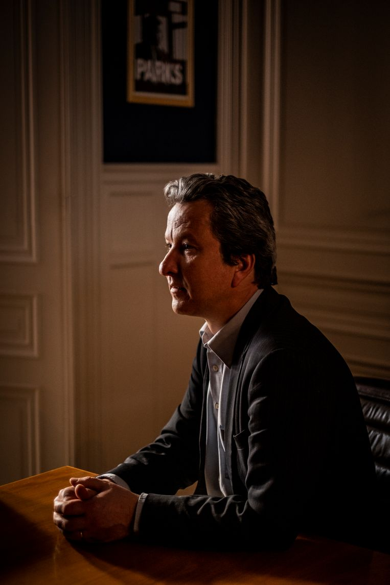 Advocaat en voormalig voorzitter van de Mensenrechtenliga Alexis Deswaef. Beeld Diego Franssens