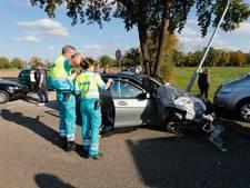 Meerdere gewonden bij ongeluk op N69 in Valkenswaard