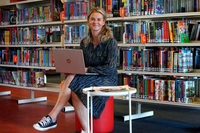 Wietske Bénard van de Bibliotheek AanZet in Gorinchem.