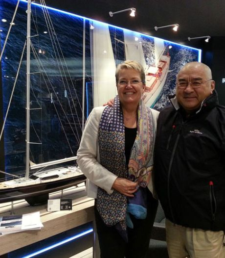 Deze steenrijke zakenman liet het grootste aluminium zeiljacht ter wereld bouwen in Vollenhove