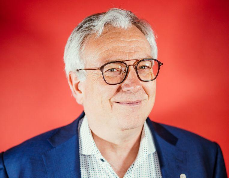 Professor Dirk Devroey. Beeld Stefaan Temmerman