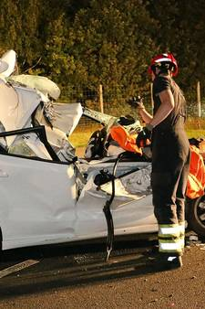 Vrouw zwaargewond door ongeval A67 Eersel