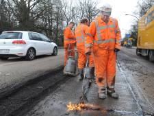 Vorstschade aan wegen in Borne snel hersteld