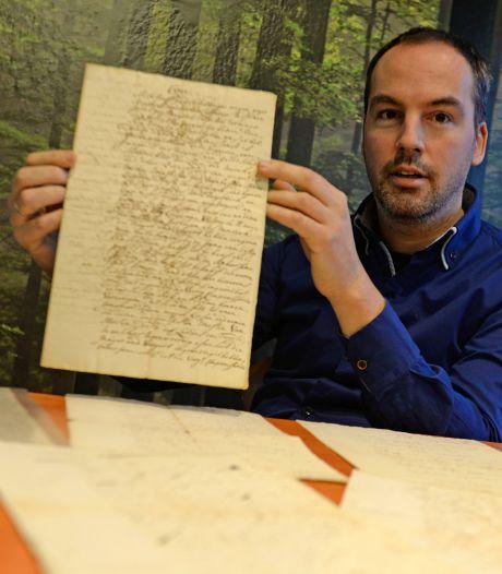 Unieke vondst:  51 historische brieven over Enschede
