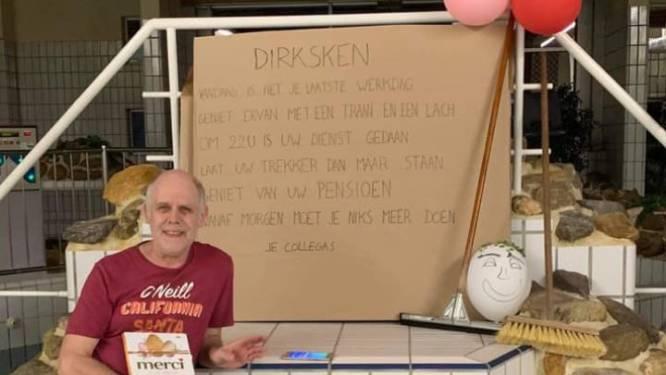 """Zelzate nam afscheid van zijn favoriete zwembadopzichter: """"Geniet van je pensioen 'Dirksken'!"""""""