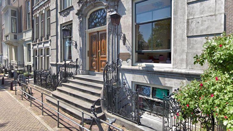 Het Elfenbankje is sinds 29 jaar een klein zelfstandig kinderdagverblijf aan de Nieuwe Herengracht. Beeld Google Streetview