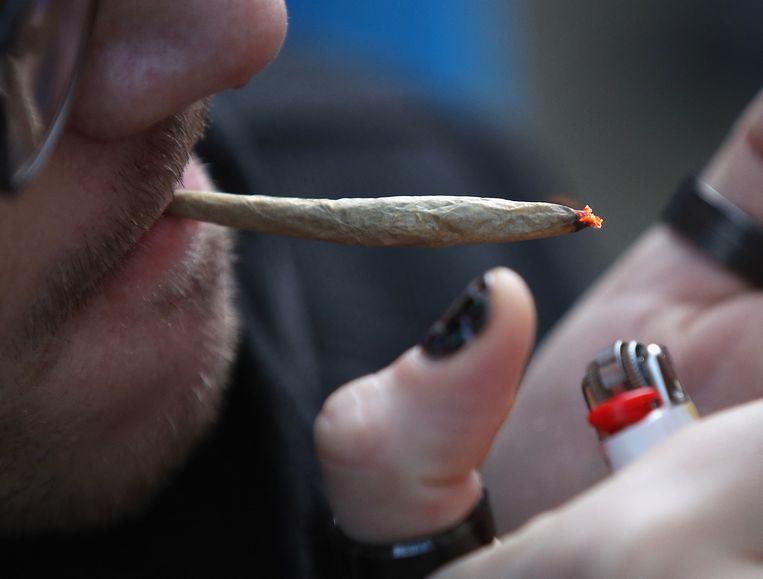 In de Verenigde Staten hebben al veertien staten het recreatief gebruikt van cannabis goedgekeurd.  Beeld AFP