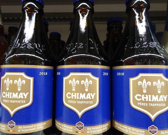 Chimay Blauw, een van de vier huidige bieren in het assortiment van Chimay. Het nieuwe bier, 'Chimay 150' of 'Chimay Groen' zal tegen de herfst verkrijgbaar zijn voor het grote publiek.