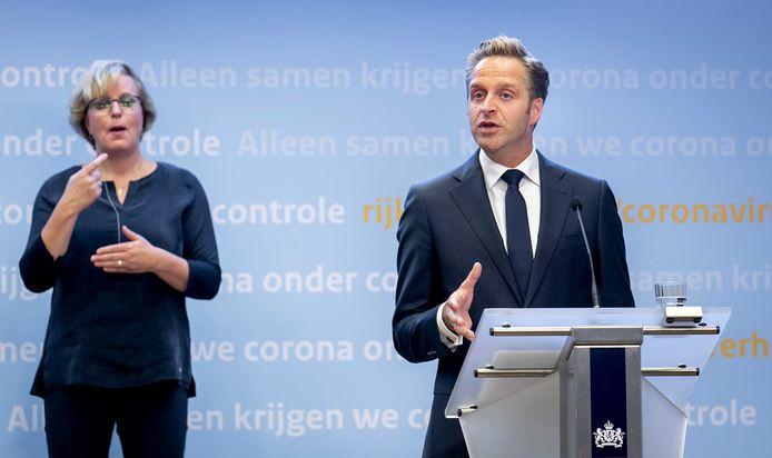 Minister Hugo de Jonge (Volksgezondheid, Welzijn en Sport).