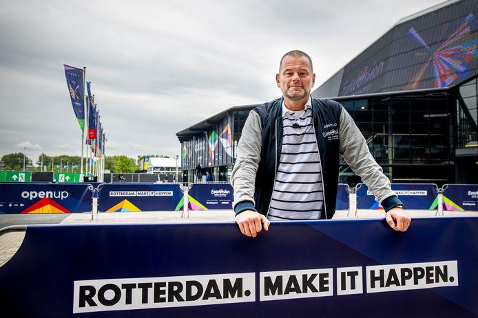 Richard van Vught is Head of Security tijdens het Eurovisie Songfestival. 'Dit is echt de kroon op mijn werk.'
