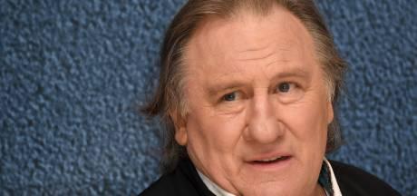 Gérard Depardieu et Michel Houellebecq ivres sur le tournage de leur dernier film?