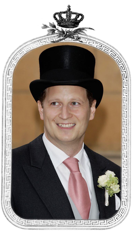 Prins Georg Friedrich Ferdinand van Pruisen (42), achterachterkleinzoon van keizer Wilhelm II. Beeld Getty