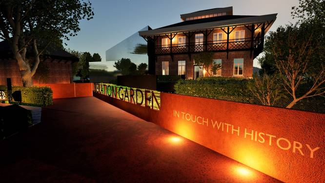 Oorlogsmuseum 'Liberation Garden' moet in najaar 2022 openen