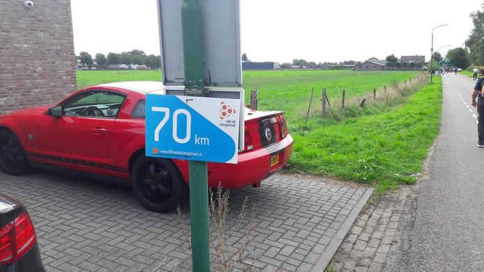 Nog 10 kilometer te gaan.
