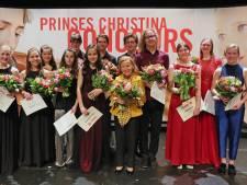 Alphense violistes bij prinses Christina