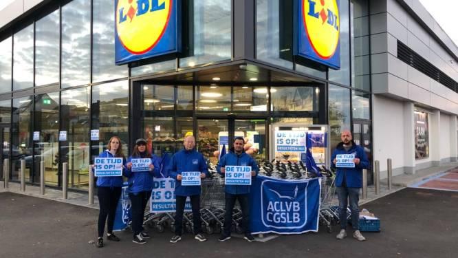 Helft Lidl-winkels blijft dicht wegens staking tegen hoge werkdruk