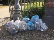 Plus d'un millier de sacs de déchets ont été ramassés aux Bons Villers