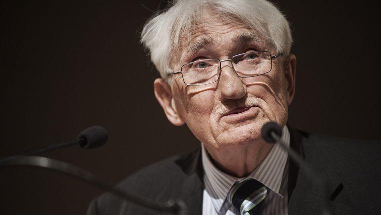 Jürgen Habermas. Beeld Eric De Mildt