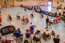 Basketball toernooi in de Deppenbroekhal.