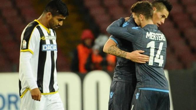 Napoli naar kwartfinales Coppa Italia ondanks vroege penaltymisser Mertens