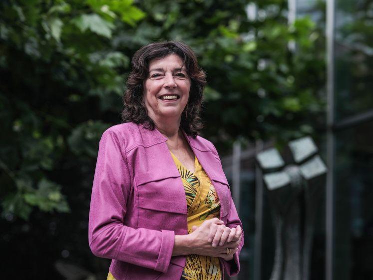 SKB-directeur Marja Weijers kijkt tevreden terug: 'Het is hier een beetje anarchistisch'