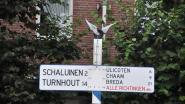 Antieke wegwijzer is weer terecht (en krijgt andere plaats in Baarle-centrum)