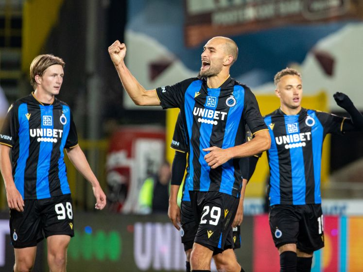Club Brugge zet tien Deinze-spelers simpel opzij met dank aan Izquierdo en tweeklapper Dost