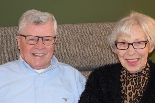 Henk en Ria van der Heijden zijn 60 jaar getrouwd.