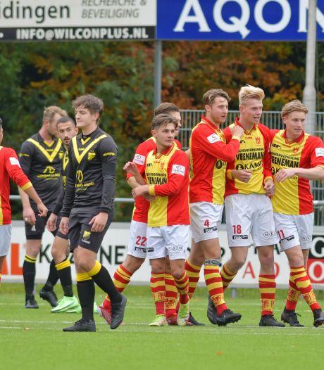 DOS Kampen pakt ook geen bonuspunten bij CSV Apeldoorn, vijfde nederlaag in successie