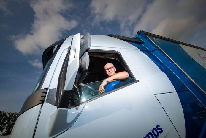 Gerard Schoenaker uit Klarenbeek strijdt op 25 september in Assen om de titel 'Veiligste chauffeur van Nederland'.