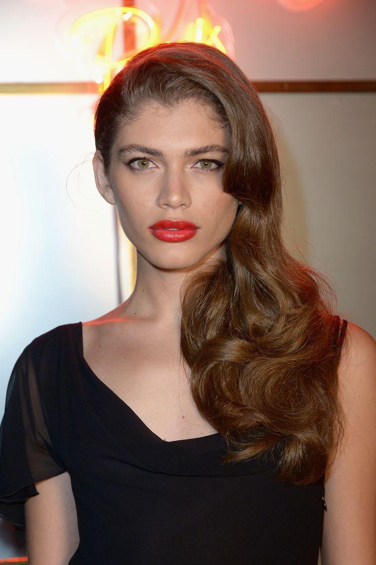 Sampaio is het eerste transgendermodel voor Victoria's Secret. Beeld Getty Images