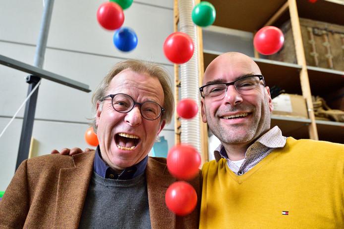 Wim Wijting ( links ) en Martijn Potters van Ballen Enzo zijn blij met de nominatie.