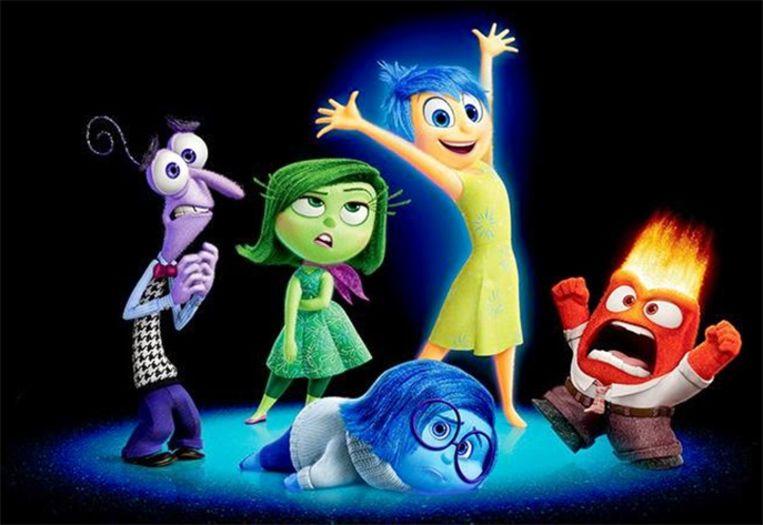 Disney-topper 'Inside Out' is ook niet beschikbaar voor de Amerikanen. Beeld Disney