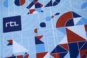 Het nieuwe logo van RTL. De naamsverandering van het moedermerk in Nederland gaat gepaard met een compleet nieuwe huisstijl.