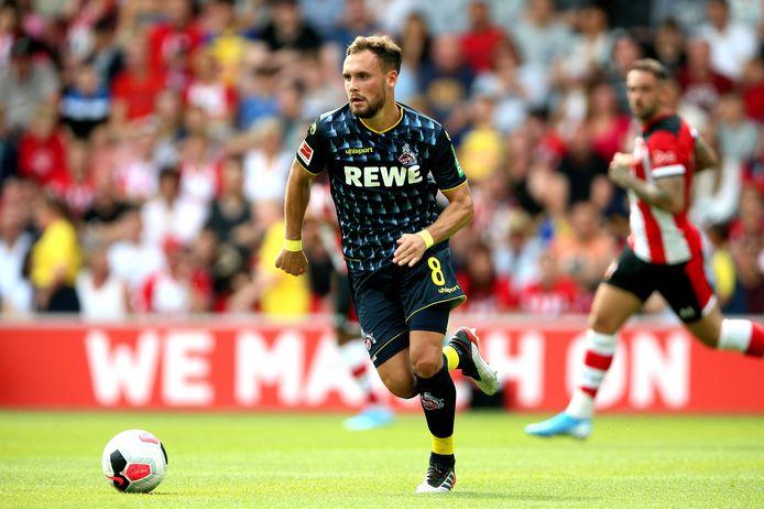 Birger Verstraete in het shirt van Köln.