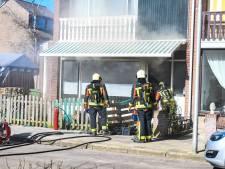Meterkast vat vlam: vier woningen ontruimd wegens gaslek