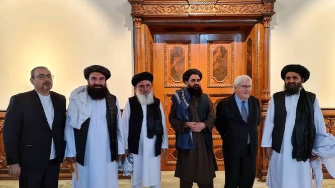 VN en leider taliban spreken in Kaboel over organiseren humanitaire hulp voor Afghanen