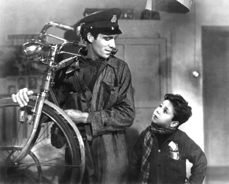 Ladri di biciclette. Beeld The Bicycle Thief