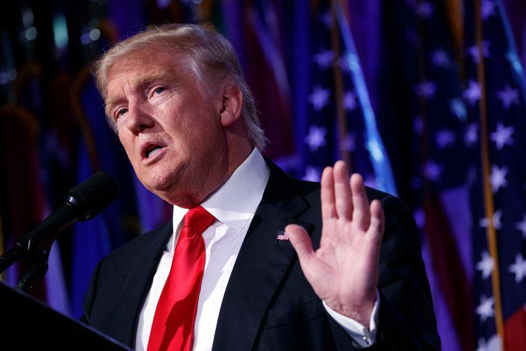 President-elect van de Verenigde Staten Donald Trump.  Beeld AP